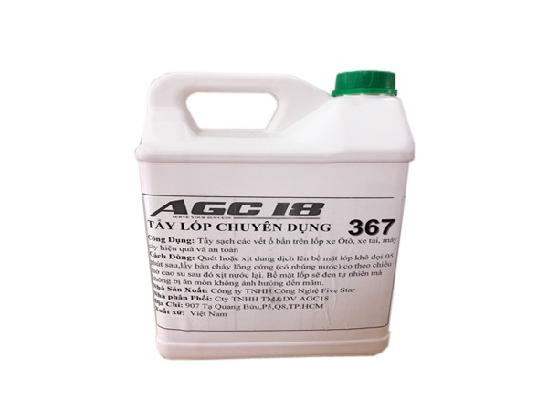 Tẩy lốp chuyên dụng AGC - 367