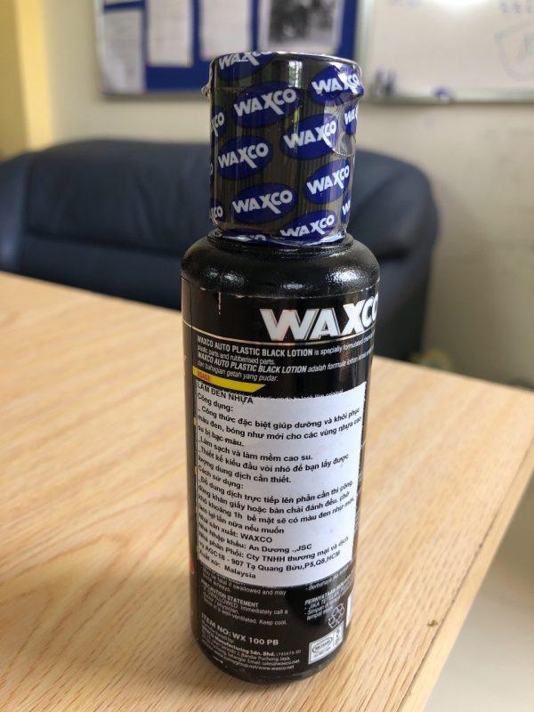 Làm đen nhựa Waxco 100 ml