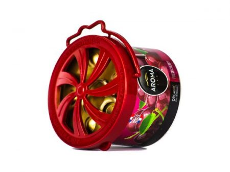 Sáp thơm xe hơi Aroma Car Organic 40g Cherry