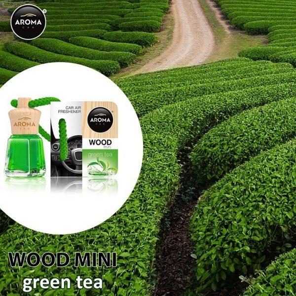 Tinh dầu treo Aroma Wood hương Green Tea