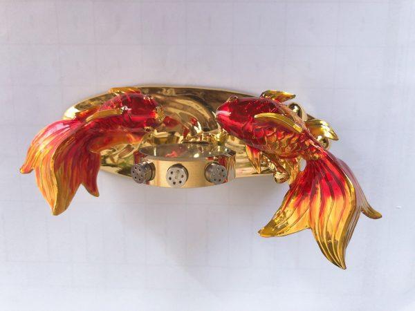 Tượng Cá chép phong thủy may mắn