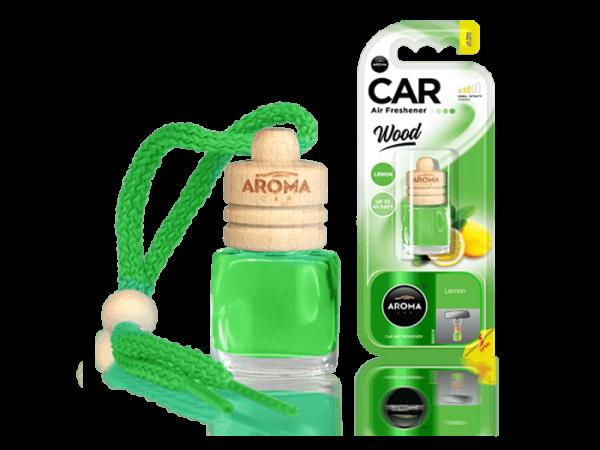 Tinh dầu nước hoa Aroma Car Wood 6ml - Lemon
