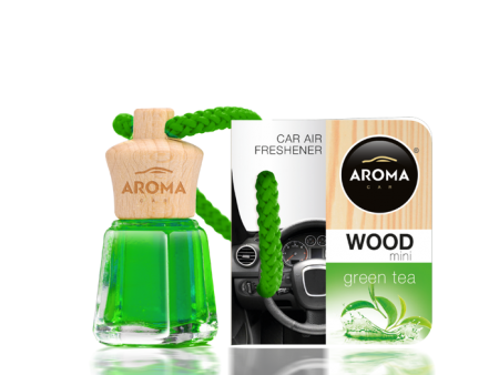 Tinh dầu treo Aroma Car Wood 4ml Green Tea