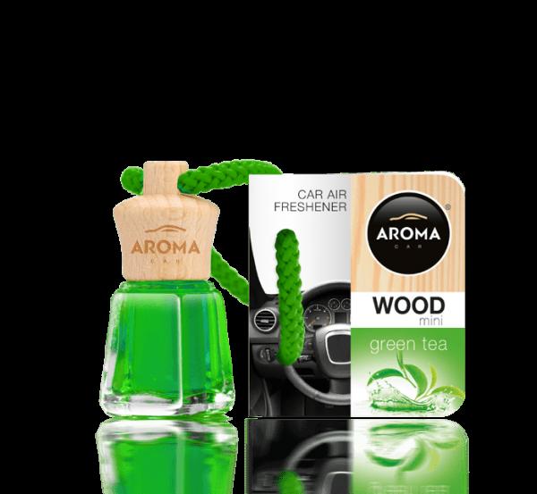Tinh dầu treo Aroma Car Wood 4ml Green Tea