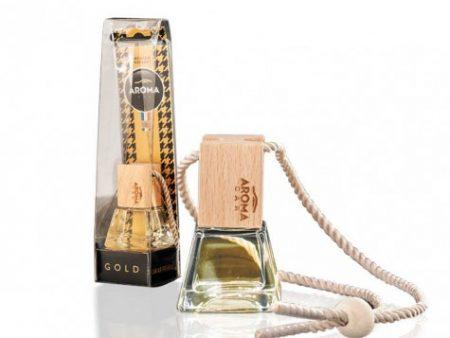 Tinh dầu treo Aroma Car Prestige Wood Gold