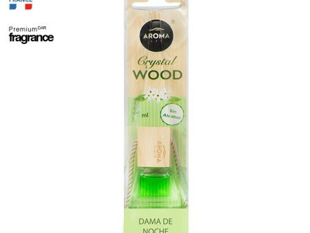 Tinh dầu treo Aroma Car Crystal Wood Chaming lady