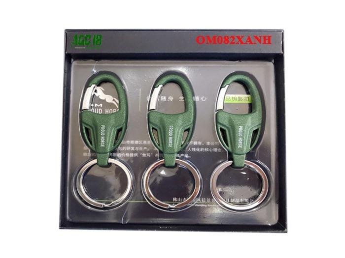 Móc treo chìa khóa đẹp và đẳng cấp mã OM082XANH