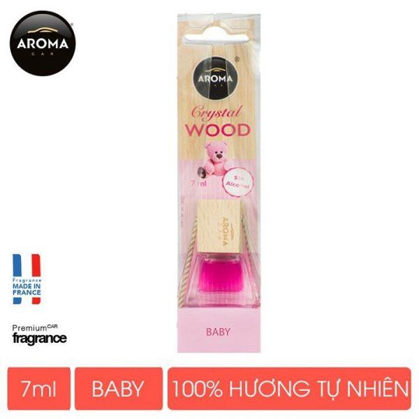 Tinh dầu Crystal Wood hương baby - 7ml