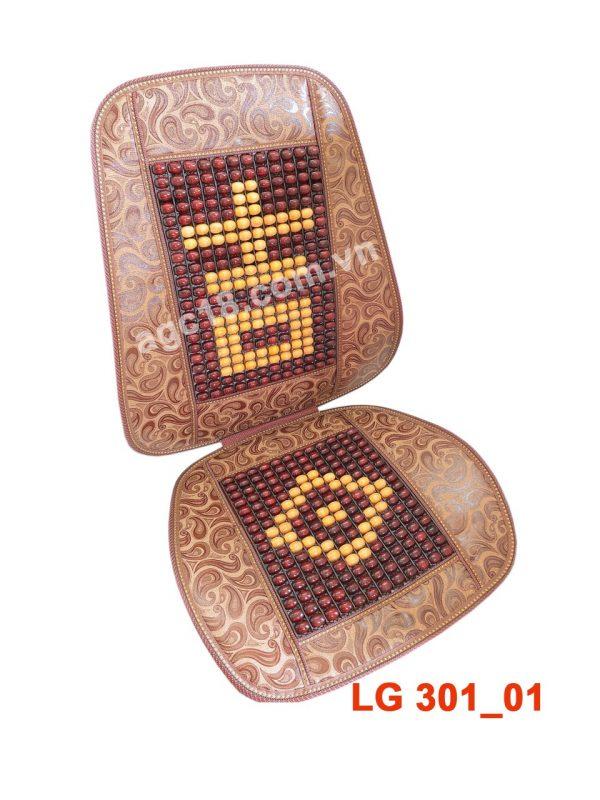 Lót ghế hạt gỗ cao cấp LG - 301