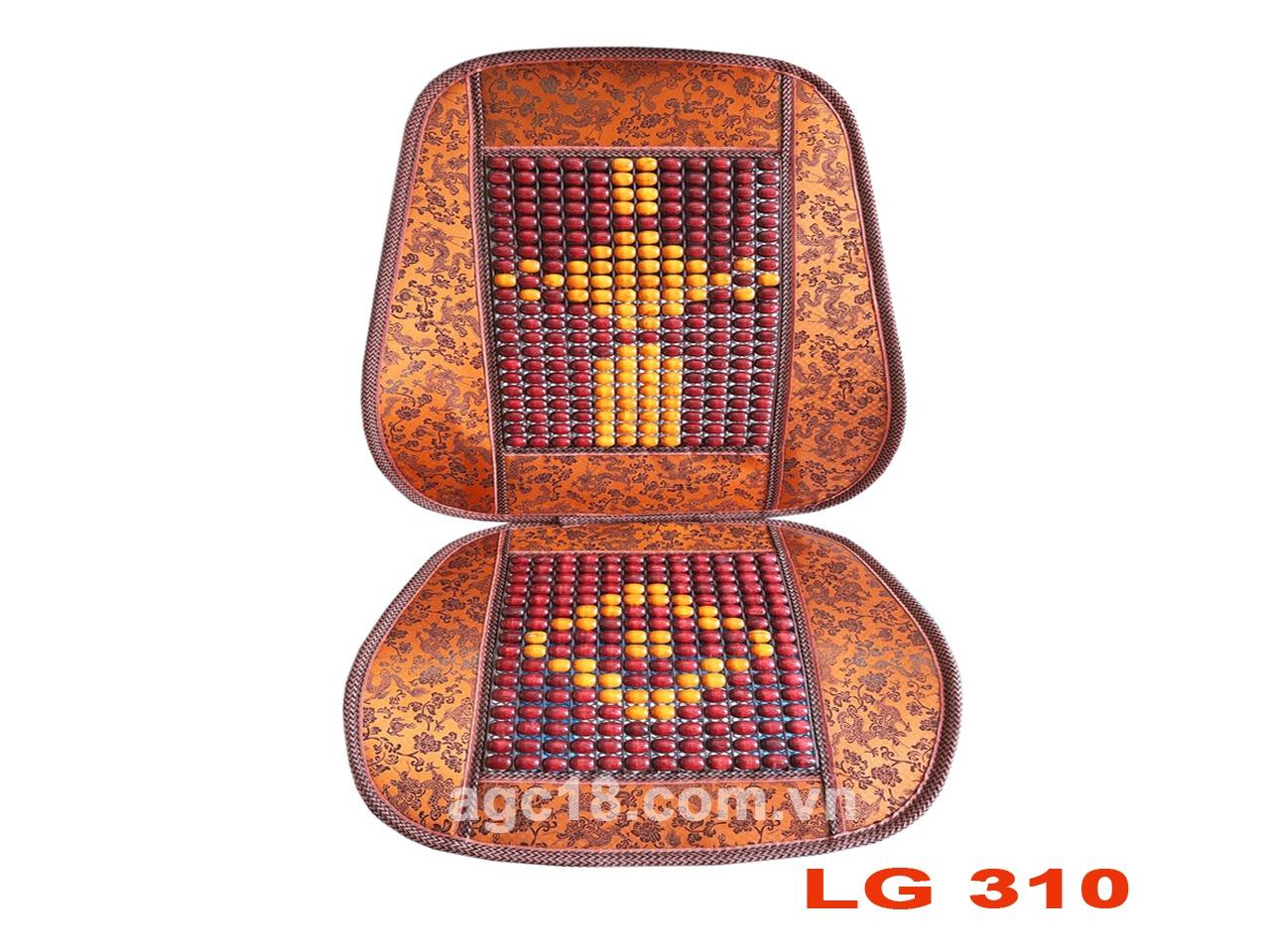 Lót ghế hạt gỗ cao cấp LG - 310