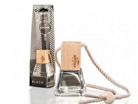 Tinh dầu treo Aroma Car Prestige Wood Black