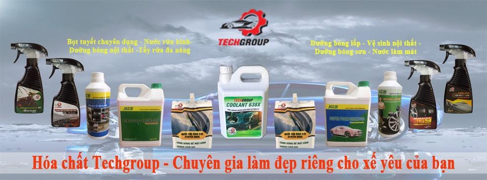 Hóa chất Techgroup - bóng dưỡng