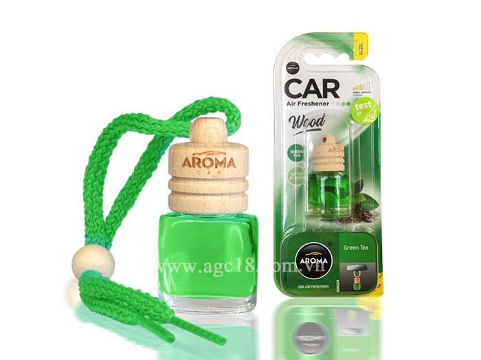 Tinh dầu treo Wood-greentea 6ml